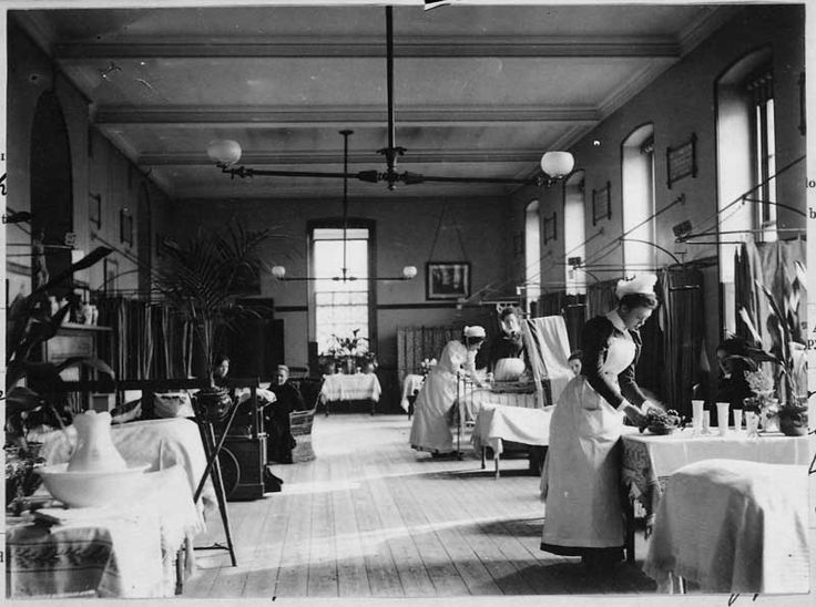 Guy's Hospital London 1897 (before the NHS)  Catalogue reference: COPY 1/428