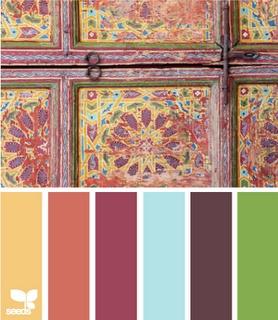 1000 Ideas About Vintage Color Schemes On Pinterest