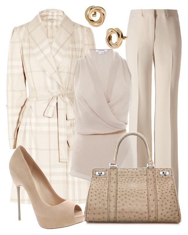 """Winter Whites"" by esha2001 ❤ liked on Polyvore featuring Etro, Burberry…"