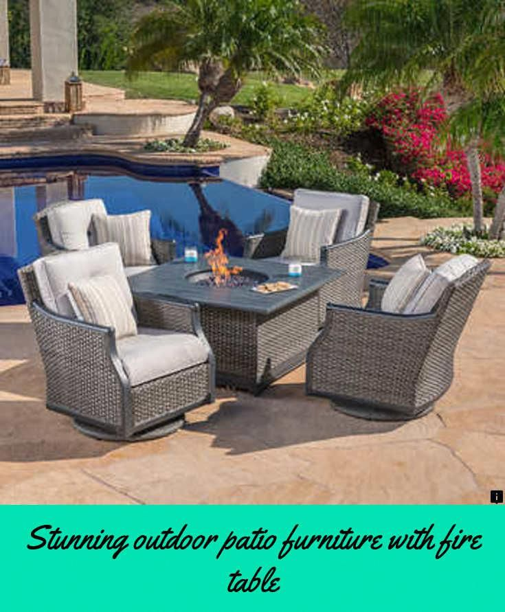 Read About Outdoor Patio Furniture With Fire Table Simply Click Here For More