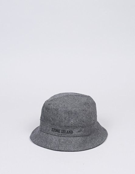 The wool bucket hat from StoneIsland. Perfect for winter. Also comes in dark blue.