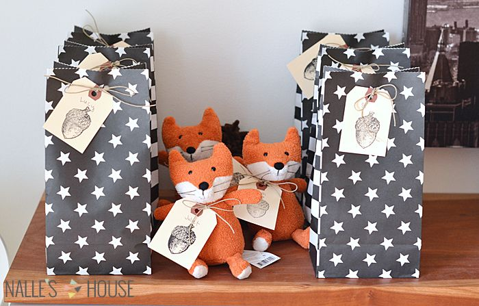 A Fox Shared Birthday Party-- cute favor gifts – C blog for details