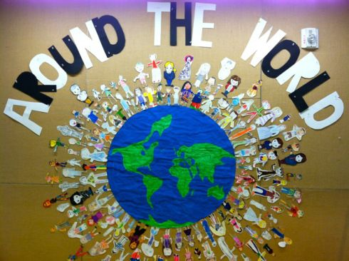 Around the World Bulletin Board