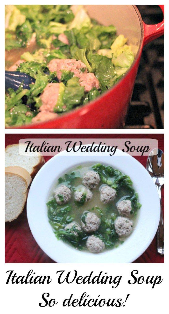 Wedding Soup Italian Weddings And Italian On Pinterest
