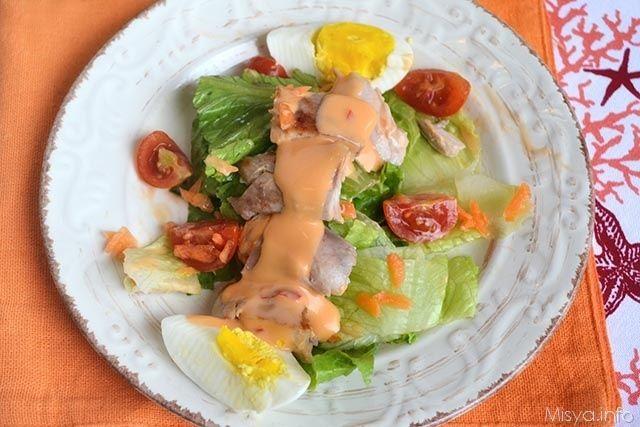 » Chicken salad Ricette di Misya - Ricetta Chicken salad di Misya