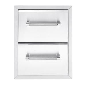 KitchenAid 18 in. Built In Grill 2 drawer Large Cabinet 780-0016 at The Home Depot - Mobile