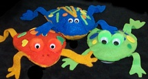 Tree frogs? Jaydon will love making these with me.Frogs Beans, Frog Crafts, Ethan Crafts, Beans Bags, Vbs Crafts, Frogs Parties, Fair Crafts, Frogs Crafts, Bags Crafts