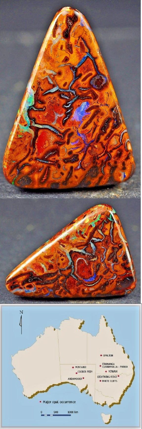 Boulder Opals 181111: 25.5 Cts Boulder Opal Koroit Australian Natural Solid Polished - Priced To Sell! -> BUY IT NOW ONLY: $59.99 on eBay!