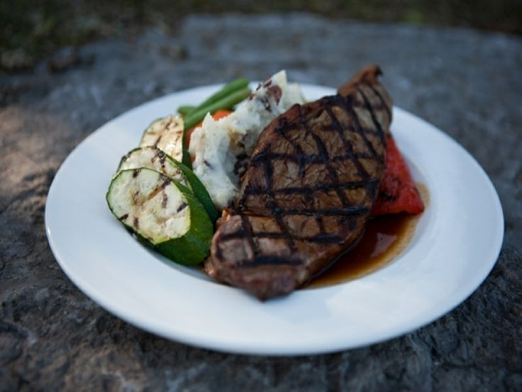 9oz Striploin Ontario beef, extra aged for tenderness. Grilled to your liking and topped with a beef demi glaze.