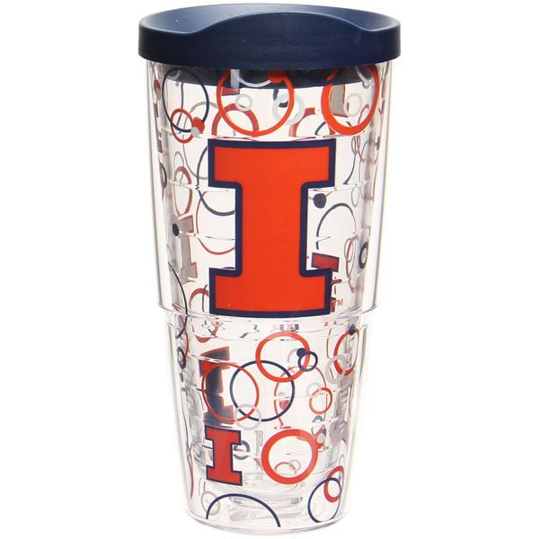 Illinois Fighting Illini Tervis 24oz. Bubble Up Wrap Tumbler With Lid - $24.99