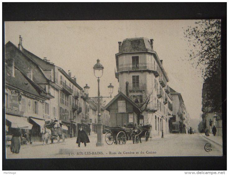 AIX-LES-BAINS.Rue de Geneve et du Casino,unused-n°517 - Delcampe.it