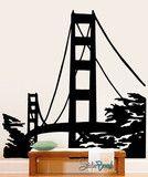Vinyl Wall Decal Sticker Golden Gate Bridge #174