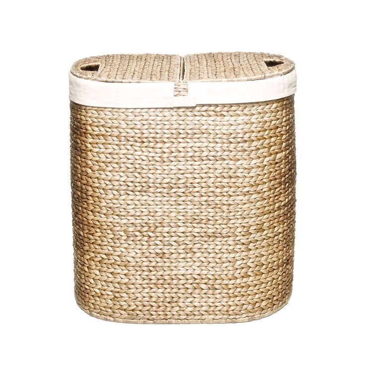 This beautiful Seville Classics hamper is where functionality meets style. Make this a permanent fixture in your bathroom or bedroom to separate your lights and darks and make your life a little easier.