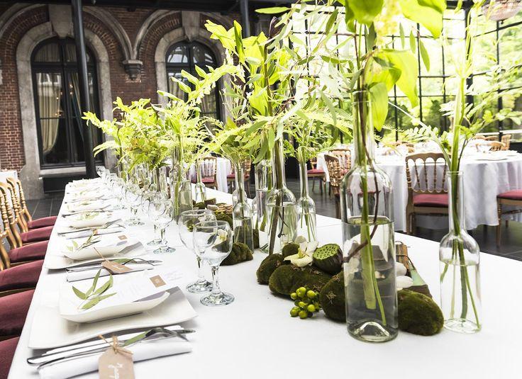 Les 8 meilleures images du tableau table d 39 honneur sur pinterest honneur jour j et centres de - Centre de table restaurant ...
