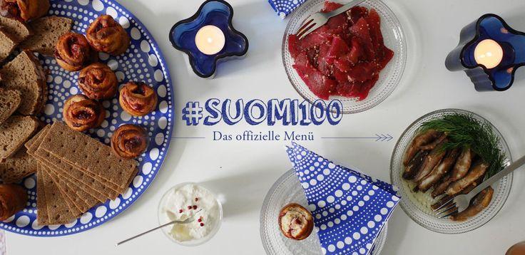 #Suomi100: Das offizielle Menü zur Hundertjahrfeier Finnlands #Finnland #Rezept