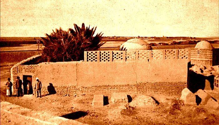 Gurudwara in Baghdad, Iraq. This Gurudwara (Sikh Temple) was built by approval from Saddam Hussain. Peer Belol Shah had created a memorial earlier here in memory of Guru Nanak's visit to Baghdad.