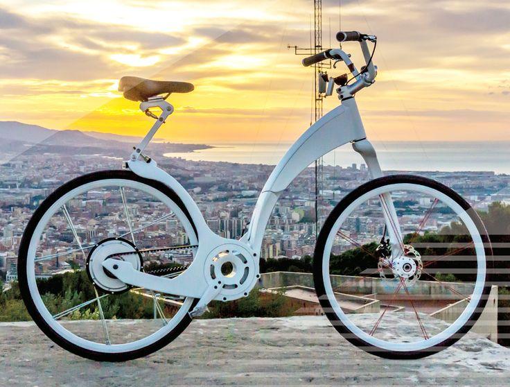 Gi FlyBike Folding Electric Bicycle