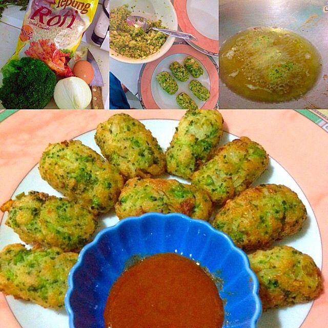 Fried Broccoli Tots
