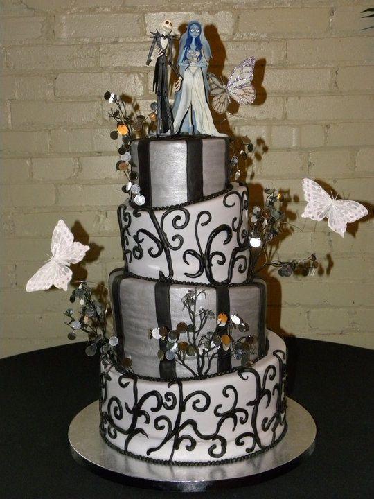 Nightmare Before Christmas Wedding | Nightmare Before Christmas Wedding  Cake | Wedding Stuff