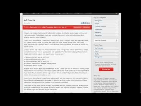 Demostración Video Sistema Web Bolsa de Trabajo Autoadministrable
