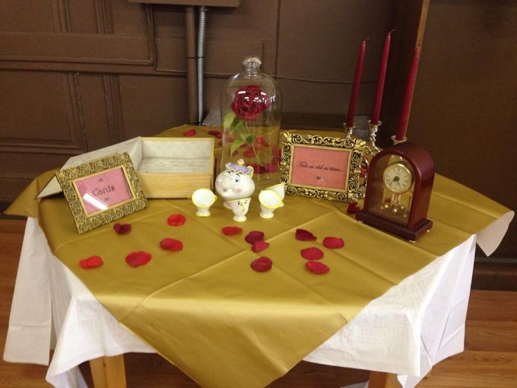 Be Our Guest A Baby Shower Inspired By Beauty And The Beast