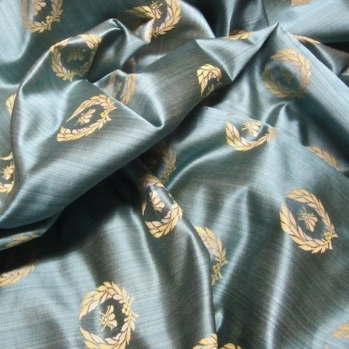 Neoclassical Napoleonic Bee Upholstery Drapery Fabric From
