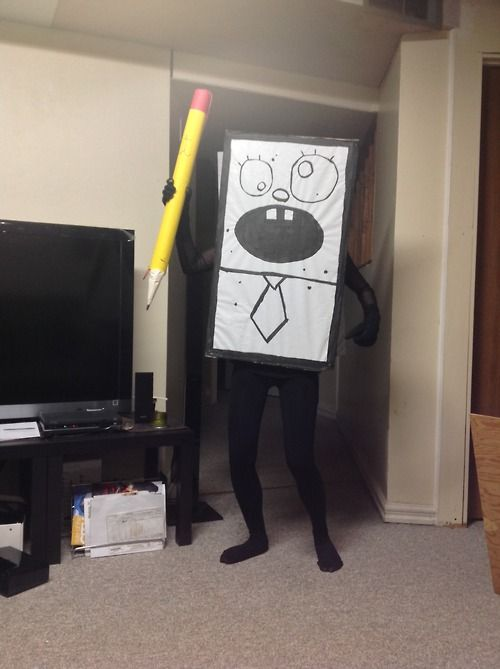 N E H O Y M E N O Y (my favorite episode)I'm gonna get this costume and scare kids in the park with it xD