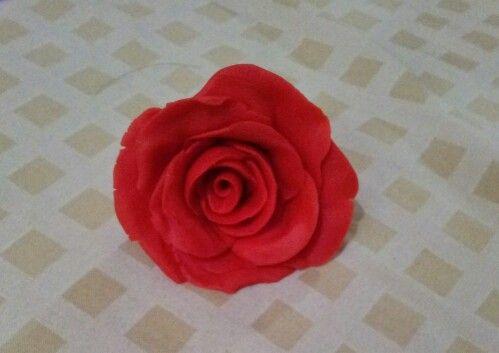 Made from my homemade playdough