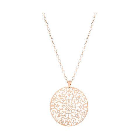Rose gold necklace - Bronzallure Kette Arabesque WSBZ00464.R