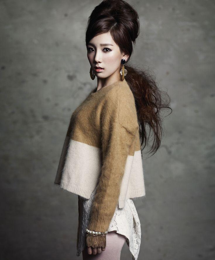 Taeyeon for Singles Magazine #SNSD