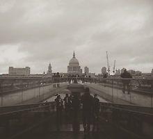 Millennium Bridge II by Eliza Gwynne