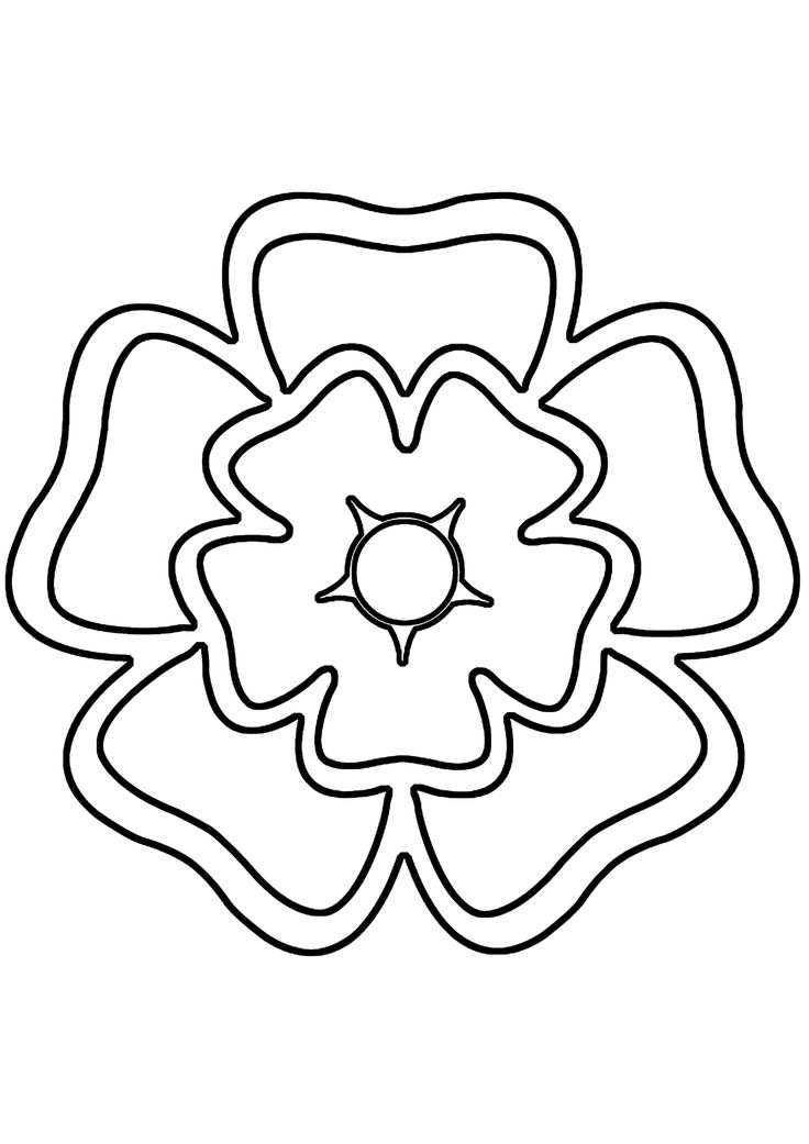 Printable Rose Stencils | Take about half the marzipan and roll it out between two sheets of ...