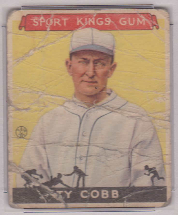 Affordable 1933 goudey sport kings gum ty cobb 1 filler