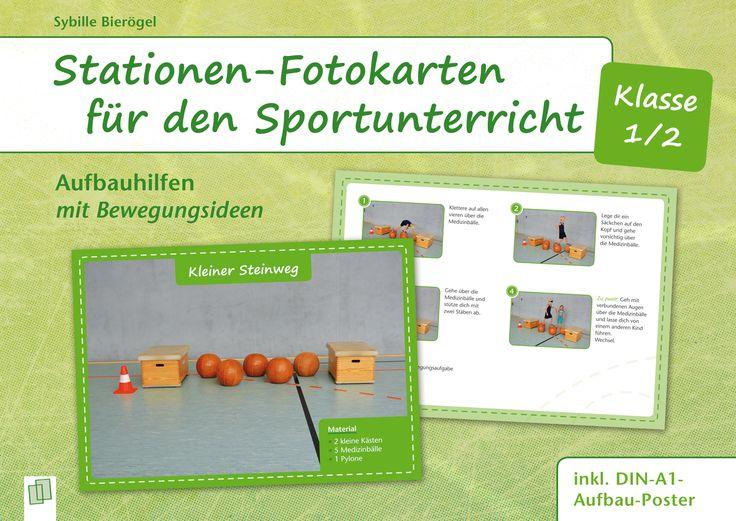 Stationen-Fotokarten Sport.1/2