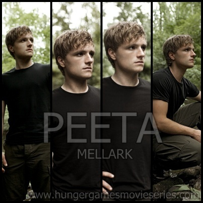 Peeta Mellark. My boy with the bread.