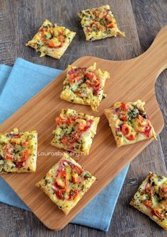 https://paleo-diet-menu.blogspot.com/ #PaleoDiet Snelle mini pizzas - Lauras Bakery