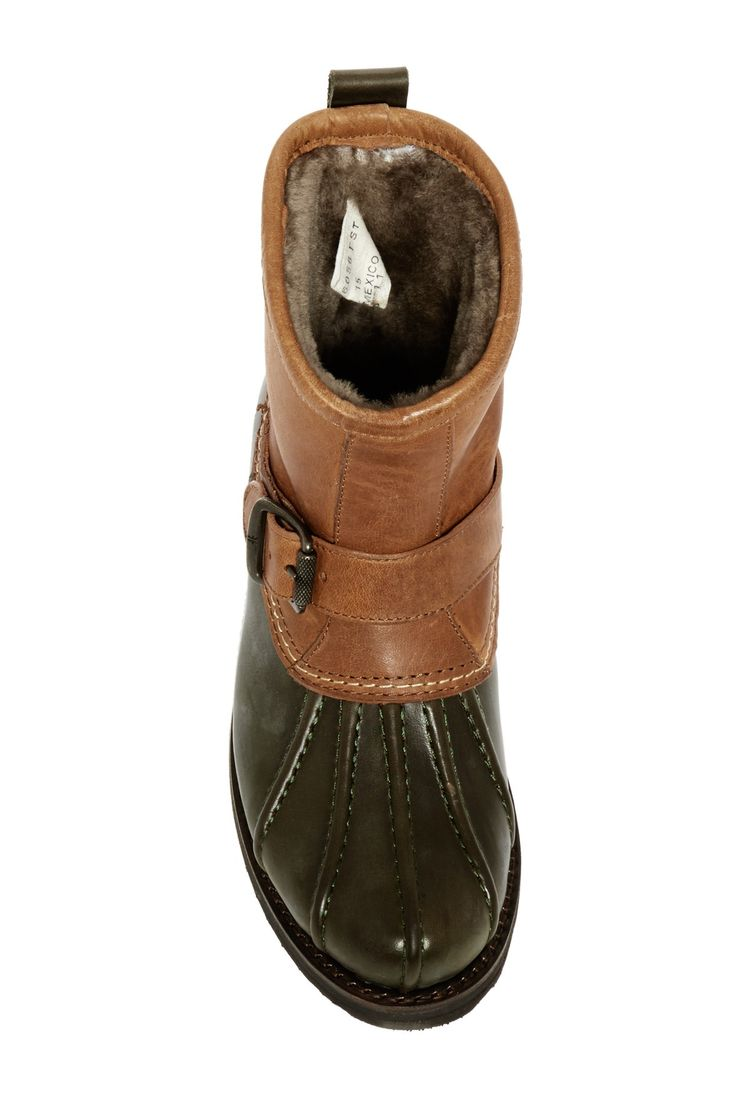 Frye - Veronica Genuine Shearling Duck Engineer Boot is now 43% off. Free Shipping on orders over $100.
