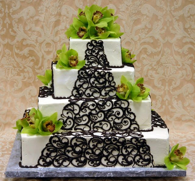 207 best Wedding Cakes images on Pinterest Cake pricing Crazy