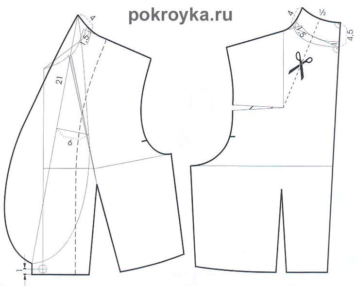 Моделирование воротников-стоек | pokroyka.ru-уроки кроя и шитья