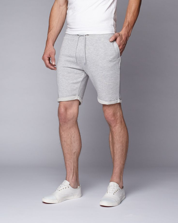 Edmonton Sweat Short // Grey Heather (XS)