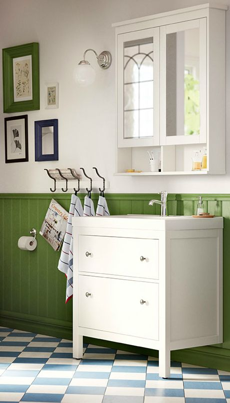A Traditional Look And Space For All You Need To Store. Thatu0027s Our HEMNES  Bathroom