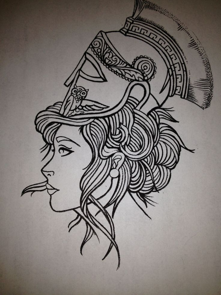 athena tattoo - Google Search