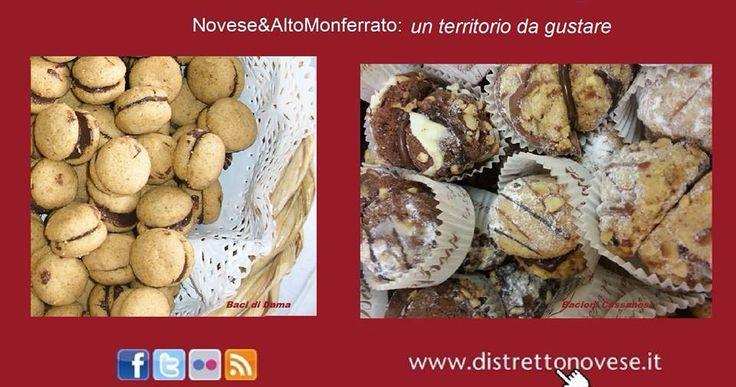 Baci di Dama novesi e Bacioni di Cassano- dolcezze tutte da gustare!