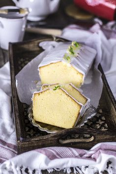 Szybkie ciasto cytrynowe