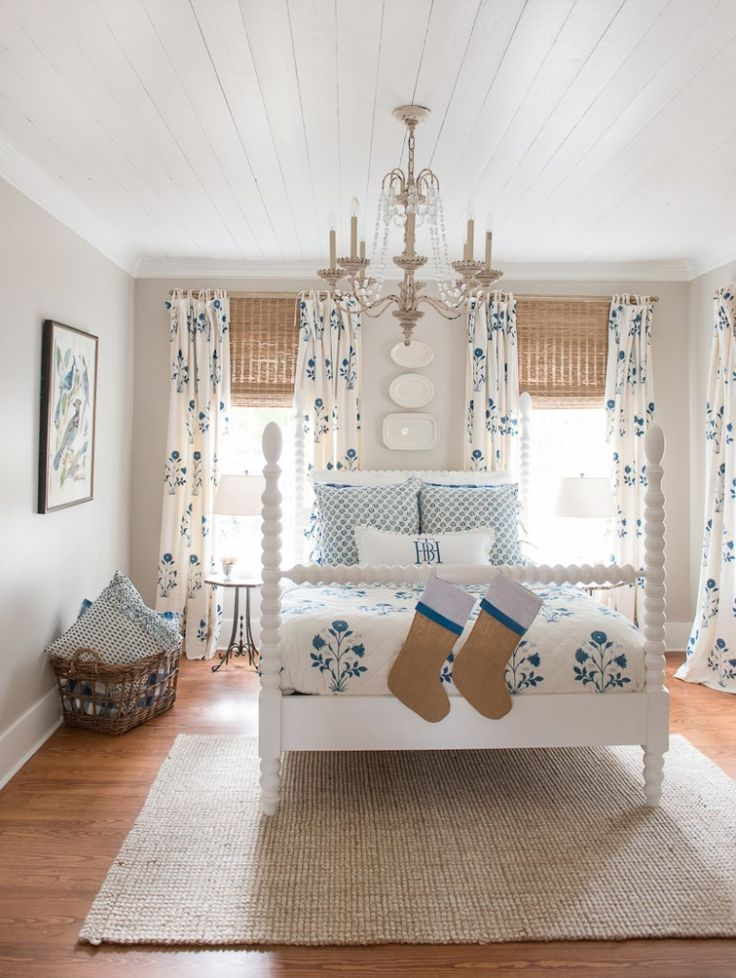 True Blue Home Texas - Open house photos & Favorite things - Holly Mathis Interiors English Farmhouse Spindle Bed