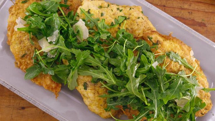 Chicken Paillard Francese by Rachael Ray - This fancy-tasting chicken dinner comes together quickly.
