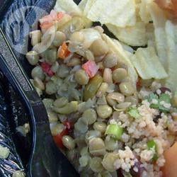 Salada de lentilha com azeitonas @ allrecipes.com.br
