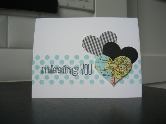 I Miss You Card Miss You Card by apaperaffaire on Etsy, $2.75 pinned from http://www.etsy.com/listing/93924781/i-miss-you-card-miss-you-card