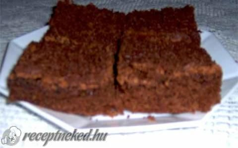 Brownie recept fotóval