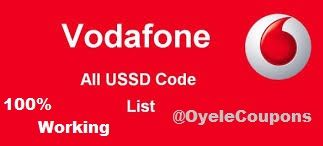 Vodafone All Ussd Codes List 2017 Check Balance Data Plans & Many More